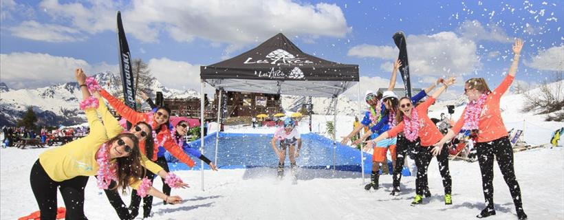 Gay ski weeks; ski holidays for the LGBT community.